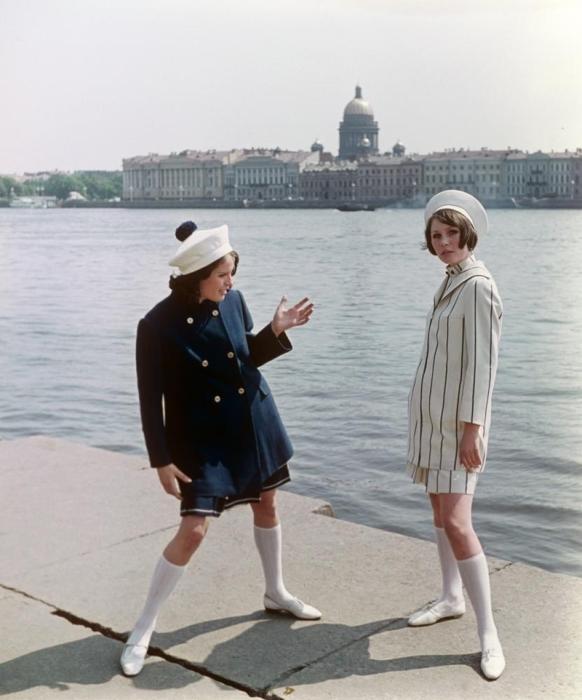 Удобная, стильная и практичная одежда, 1970-е годы.