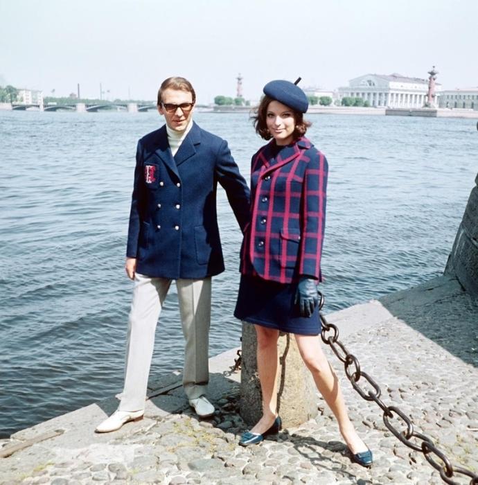 1968 - шерстяные костюмы.
