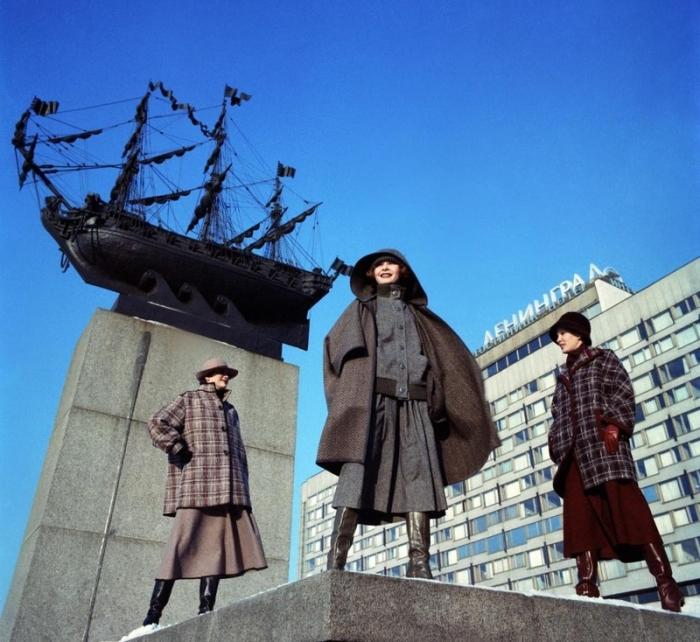 Весенние шерстяные костюмы, 1978 год.