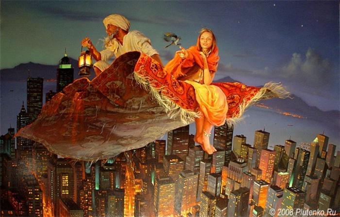 Паломничество на Восток. Автор: Станислав Плутенко.