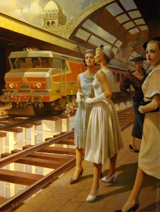 Вокзал забытых невест. Автор: Станислав Плутенко.