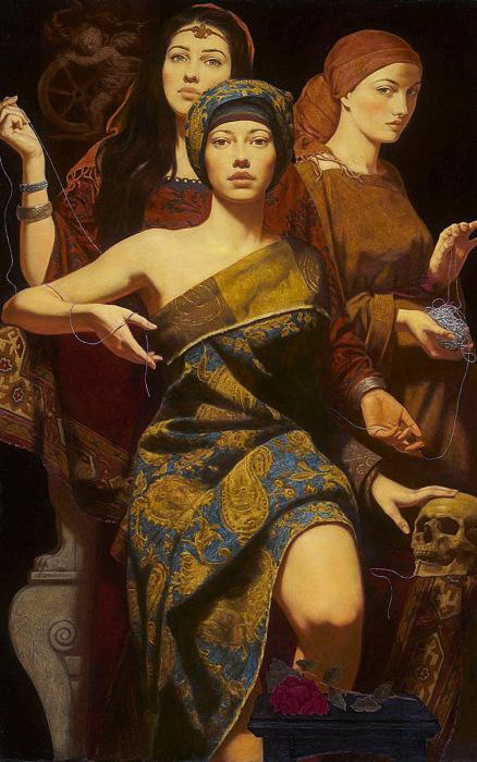 Восточная сказка и современность: Картины в стиле магический реализм