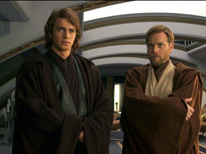 Оби-Ван и Энакин. \ Фото: twitter.com.