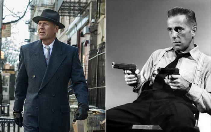 Брюс Уиллис и Хамфри Богарт.