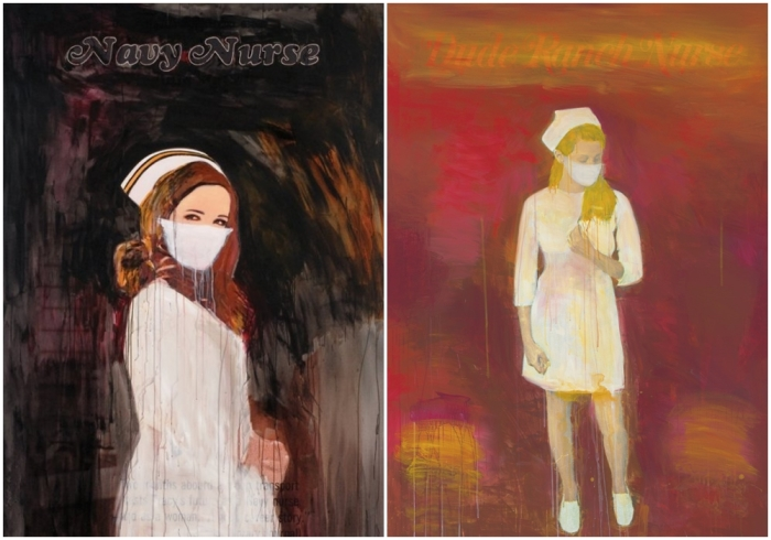 Медсёстры Ричарда Принса. \ Фото: christies.com.