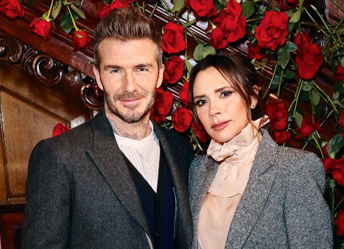 Дэвид и Виктория Бекхэм. \ Фото: ru.hellomagazine.com.