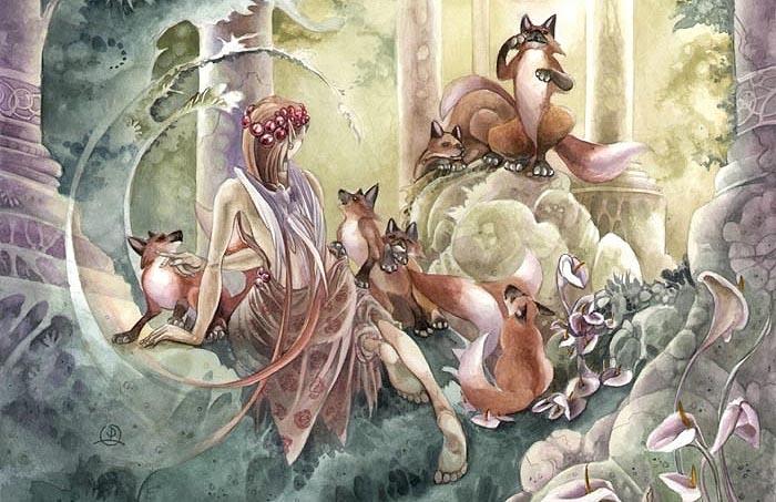 Нежные и невесомые иллюстрации от Stephanie Pui-Mun Law.