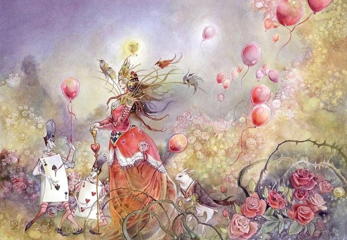 Королева карт. Автор: Stephanie Pui-Mun Law.