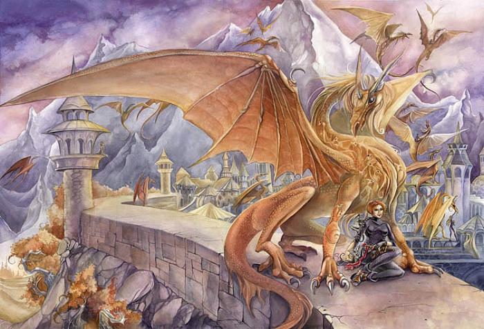 Повелительница драконов. Автор: Stephanie Pui-Mun Law.