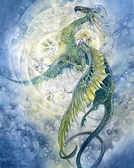 Верхом на драконе. Автор: Stephanie Pui-Mun Law.