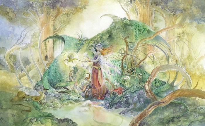 Мать драконов. Автор: Stephanie Pui-Mun Law.