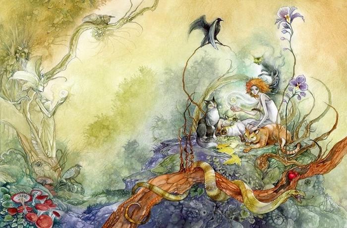 Таинственно-магические иллюстрации от Stephanie Pui-Mun Law.