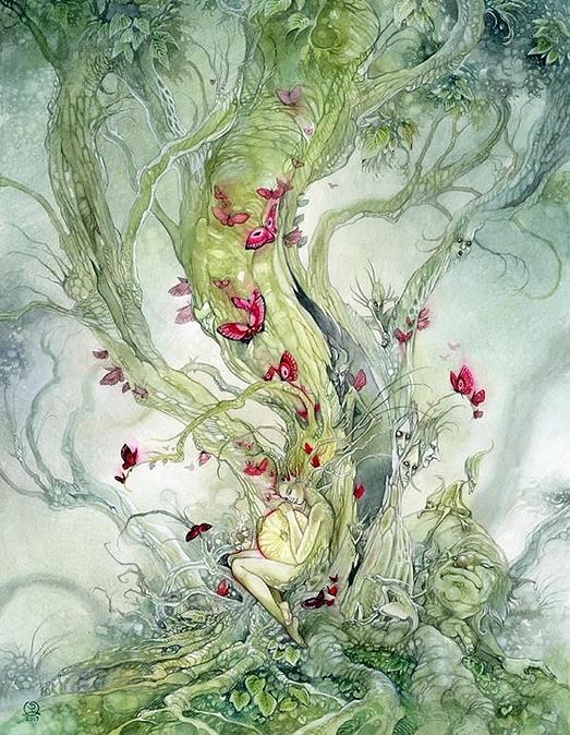 Лесная нимфа. Автор: Stephanie Pui-Mun Law.