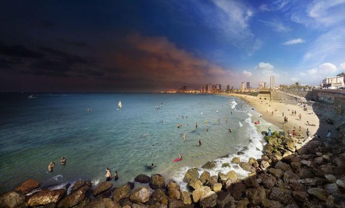 Тель-Авив, Израиль. Автор работ: Стефан Вилкс (Stephen Wilkes).