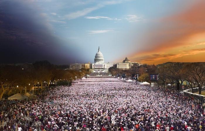 Президентские Инаугурации 2013 год. Автор работ: Стефан Вилкс (Stephen Wilkes).