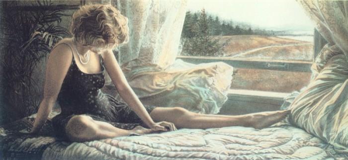 Игриво-сексуальные образы девушек в работах Стива Хэнкса (Steve Hanks).