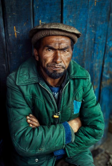 Портрет мужчины, Кашмир, 1998 год. Автор: Steve McCurry.
