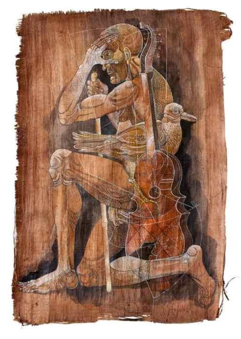 Музыкант. Автор: Stoimen Stoilov.