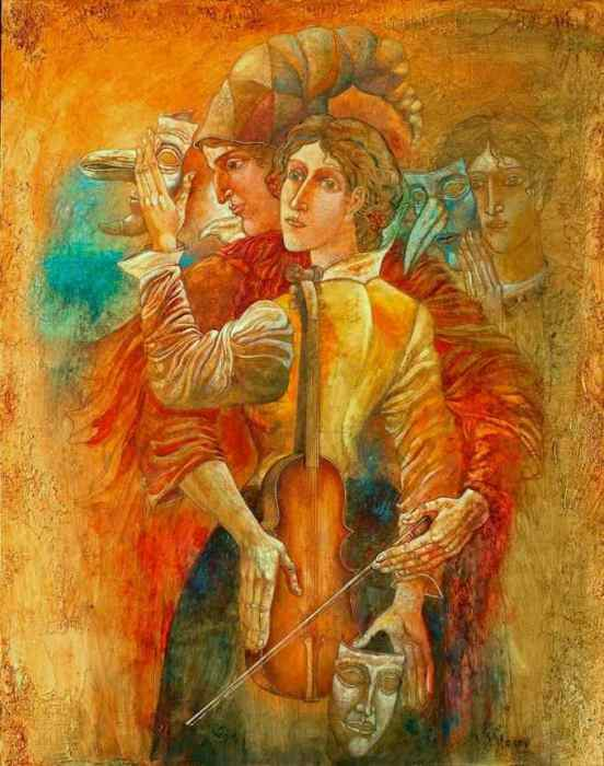 Скрипка. Автор: Stoimen Stoilov.