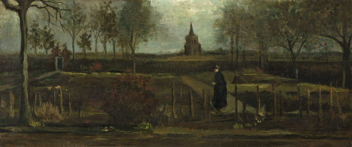 Сад священника в Нюэнене, Ван Гог. / Фото: wikimedia.org.