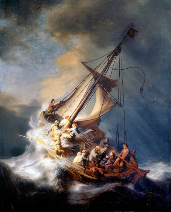 Украденное полотно Рембрандта. / Фото: resoundingthefaith.com.