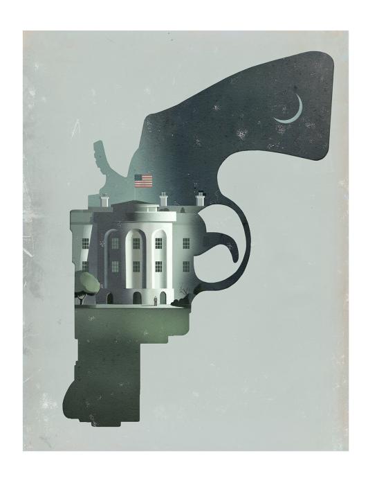 Белый Дом. Автор: Stuart McReath.