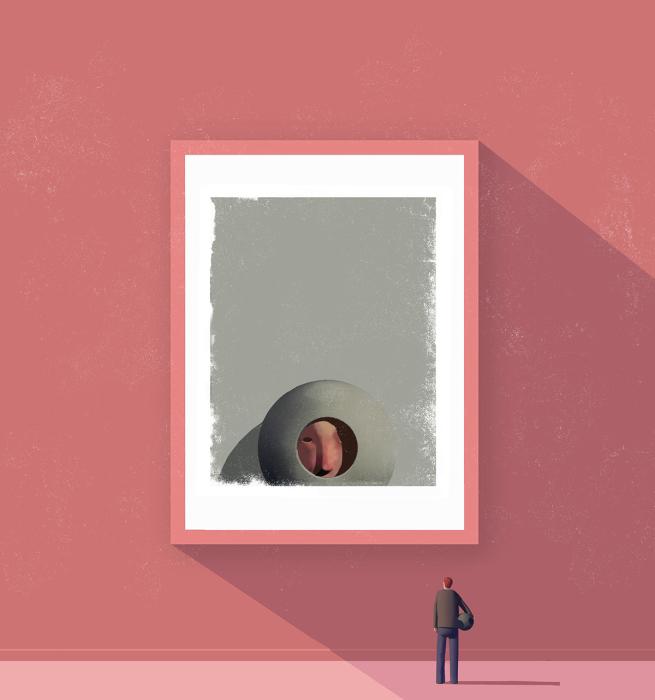 Неоткрытый самоучка Карл Юнг. Автор: Stuart McReath.
