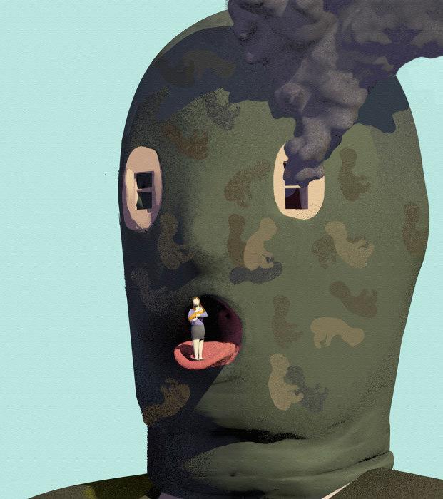 Лица терроризма. Автор: Stuart McReath.