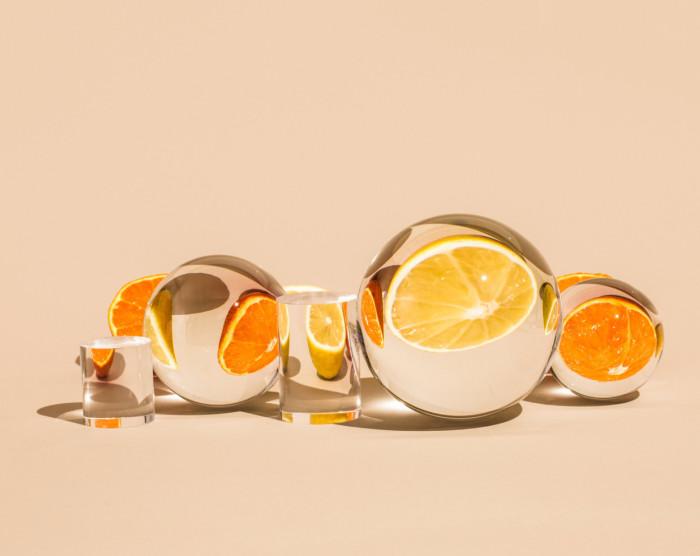 Солнечный апельсин. Автор: Suzanne Saroff.