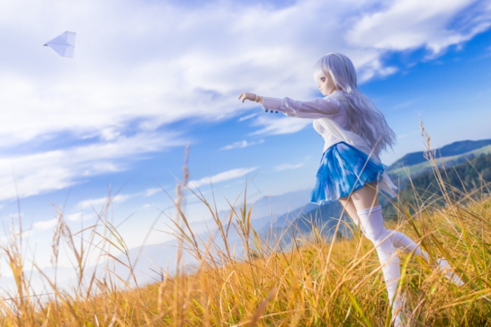 Бумажный самолётик. Авторы фото: Suzuhico и AZURE.