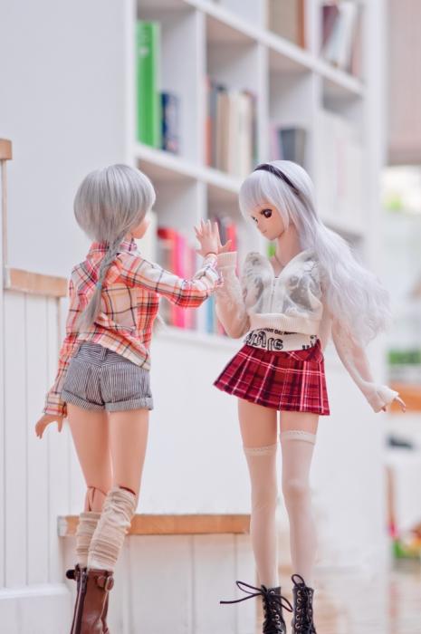 Встреча подруг. Авторы фото: Suzuhico и AZURE.