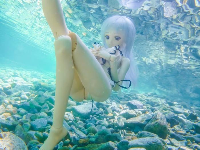 Под водой. Авторы фото: Suzuhico и AZURE.