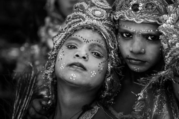 Как индуистские боги, Пушкарская ярмарка верблюдов, Индия. Автор: Swarup Chatterjee.