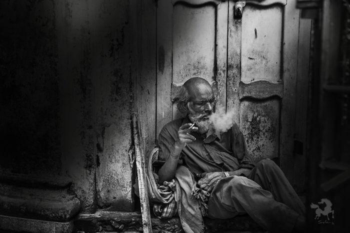Сакраментальный транс, Варанаси, Индия. Автор: Swarup Chatterjee.