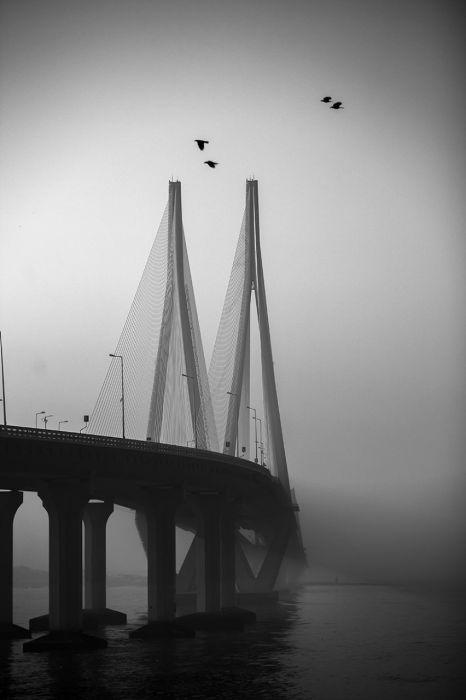 Мост Бандра-Уорли, Мумбаи, Индия. Автор: Swarup Chatterjee.