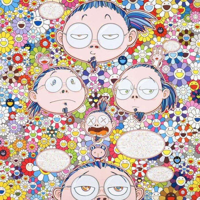 «Автопортрет художника в стрессе», 2012 год.  Автор: Takashi Murakami.
