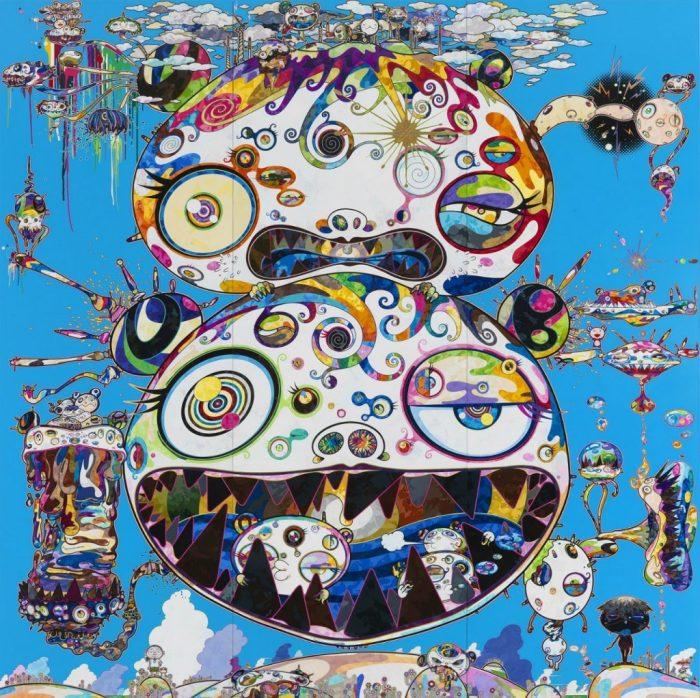 «Тан Тан Бо Говорит», 2014 год. Автор: Takashi Murakami.