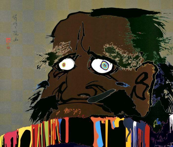 «Я могу переступить время, и в моём сердце зарождается Вселенная», 2007 год. Автор: Takashi Murakami.