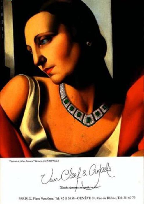 Портрет миссис Букар. Автор: Тамара де Лемпицка (Tamara de Lempicka).