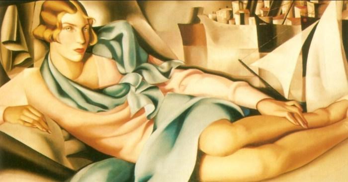 Портрет Арлетт Букар, 1928 год.  Автор: Тамара де Лемпицка (Tamara de Lempicka).
