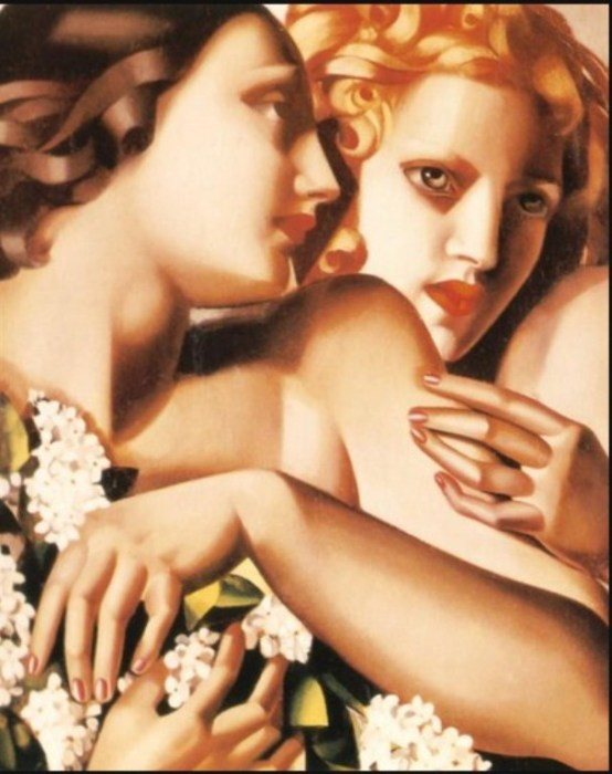 Весна, 1928 год. Автор: Тамара де Лемпицка (Tamara de Lempicka).