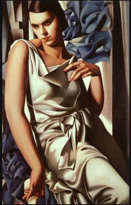 Портрет мадам М, 1930 год. Автор: Тамара де Лемпицка (Tamara de Lempicka).