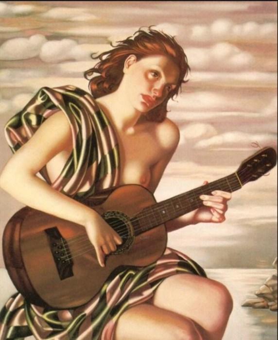 Аметист, 1946 год. Автор: Тамара де Лемпицка (Tamara de Lempicka).