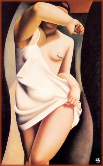 Натурщица, 1925 год. Автор: Тамара де Лемпицка (Tamara de Lempicka).