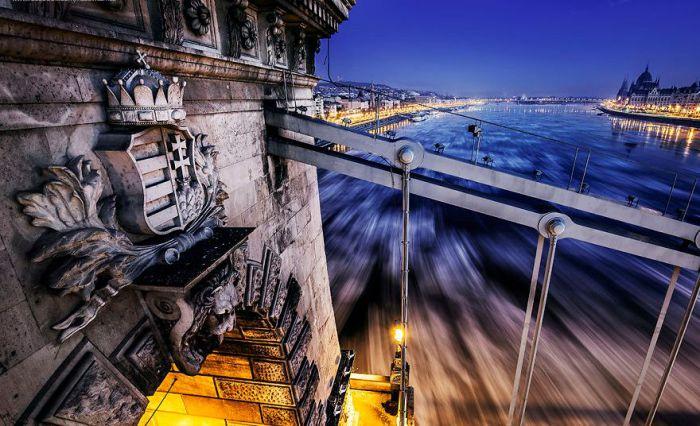 Волшебный Дунай, Цепной мост. Автор: Tamas Rizsavi.