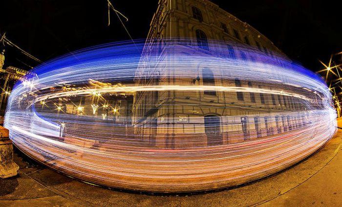 Магия на улицах Будапешта. Автор: Tamas Rizsavi.