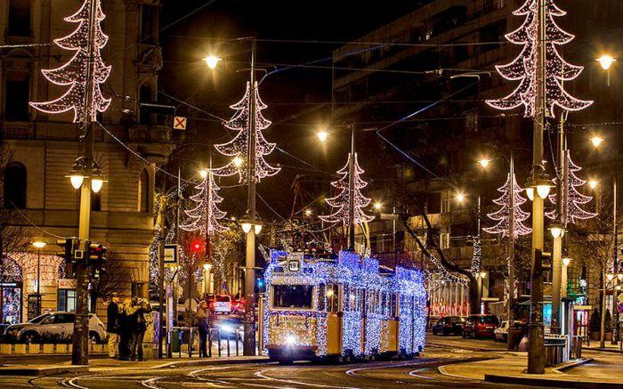 Рождественский Будапешт. Автор: Tamas Rizsavi.