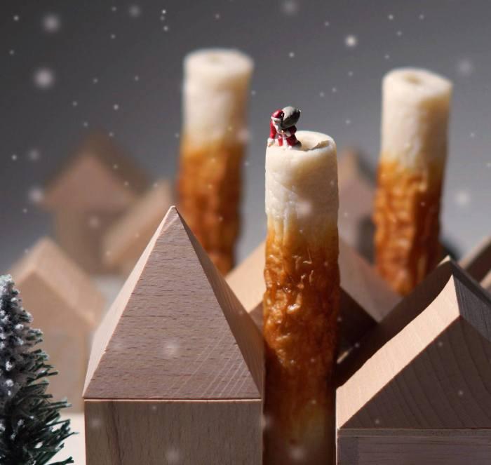 Дед Мороз. Автор: Tanaka Tatsuya.