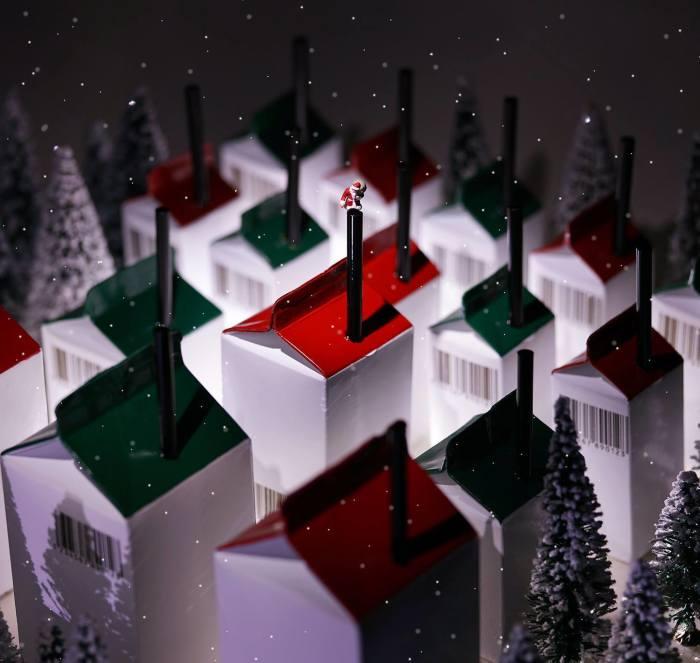 В ночь перед Новым годом. Автор: Tanaka Tatsuya.