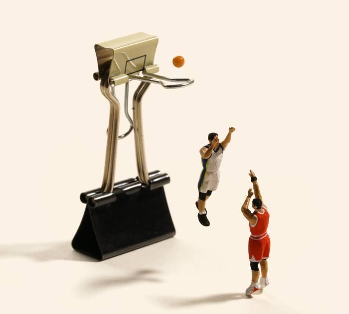 Баскетбол. Автор: Tanaka Tatsuya.